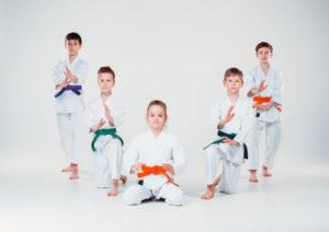 artes marciales en los niños