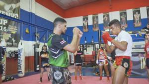 combate de muay thai