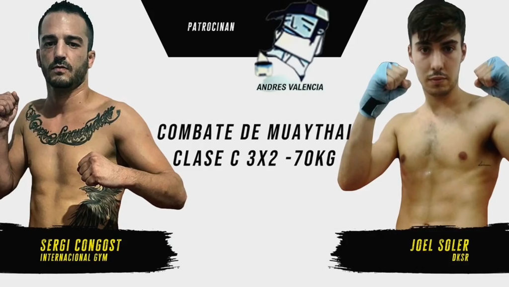 combate Muay thai