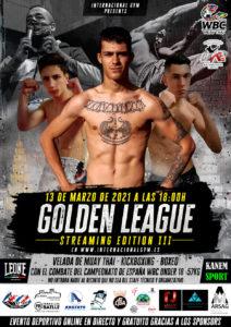 Golden League 2021 con patrocinadores