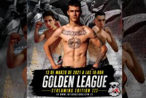 Poster velada Golden League 13 de Marzo